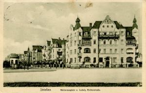 Germany - Striessen. Walderseeplatz at Ludwig Richterstrasse