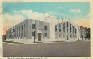 DECATUR , Illinois, 1938 ; Illinois National Guard Armory