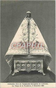 Old Postcard Free Institution of the Immaculate Conception of Virgin Laval Fo...