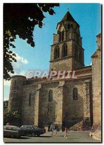 Modern Postcard Uzerche Correze Limousin Pearl of the Church