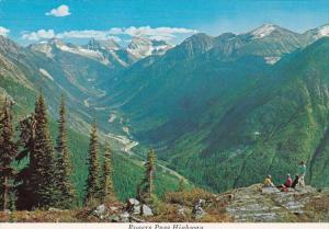 Canada Alberta Rogers Pass Highway