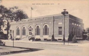 Massachusetts Leominster Post Office 1943