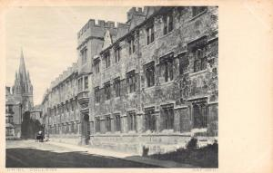 Vintage Postcard ORIEL College OXFORD #O