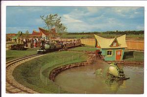 Frog Pond, Children's Zoo, Storyland Valley, Edmonton, Alberta,