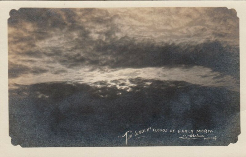 RP: The Curdle Clouds of Early Morn, PU-1909