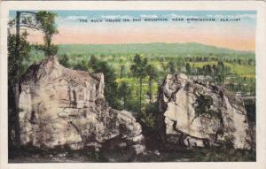 Near BIRMINGHAM, Alabama, 1900-1910's; The Rock House On Red Mountain