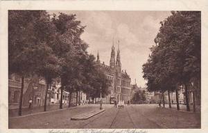Amsterdam, N. F. Voorburgrval met Postkantoors, North Holland, Netherlands, 1...