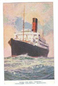 Cunard Line R. M. S. Carinthia, Tonnage 20,000, 1900-1910s