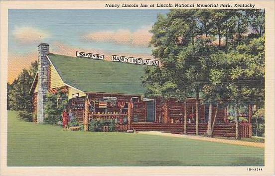 Kentucky Hodgenville Nancy Lincoln Inn Souvenir Shop At Abraham Lincoln Park