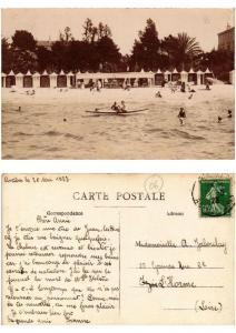 CPA Vue de JUAN-les-PINS carte photo (509223)