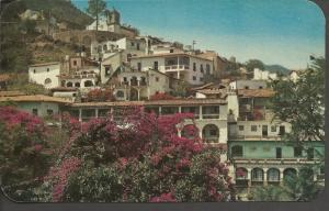 Vintage Postcard MEXICO Panoramic View TAXCO Guerrero