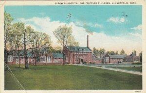 MINNEAPOLIS , Minnesota, 1935 ; Shriners Hospital for Crippled Children