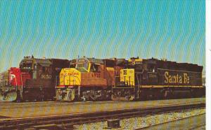 Santa Fe Union Pacific and Southern Pacific Railways Diesel Locomotives