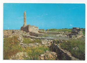 Greece Aegina Temple of Apollo Aigina Vtg 4X6 Postcard