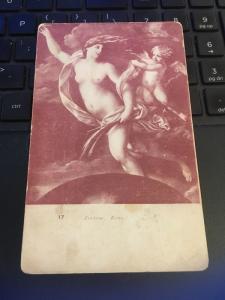 Vintage Postcard: Fortune Rome, Cherub