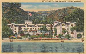SANTA CATALINA , California , 30-40s ; Hotel St Catherine