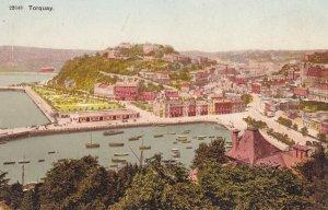 TORQUAY, Devon, England, 1900-1910s; Aerial View