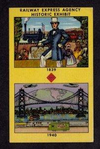 CA Golden Gate Expo Railway Exposition San Francisco Calif California Postcard