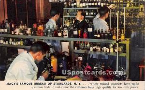 Macy's Famous Bureau of Standards New York City NY Unused