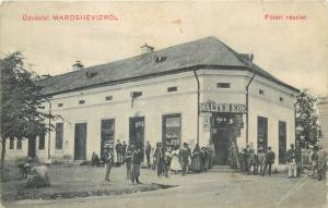Harghita Transyvania Toplita Marosheviz Walter Ede store shop magasin 1914