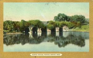 MA - Boston. Fenway, Agassiz Bridge