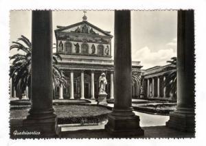 RP; Basilica di San Paolo , Quadriportico, ITALY , 40-50s