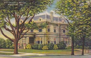 Alabama Montgomery Governor's Mansion Curteich
