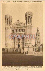 Old Postcard Marseille Fort St John AT