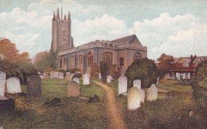SOUHTEND, Essex, England, 1900-1910s; Saint Mary's Parish Church, Prittlewell