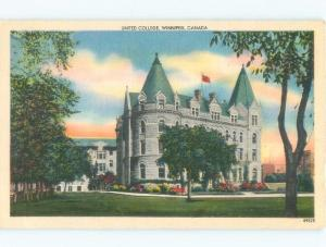 Linen UNITED COLLEGE Winnipeg Manitoba MB E1922