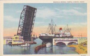 Bascule Bridge, Corpus Christi, Texas,   30-40s