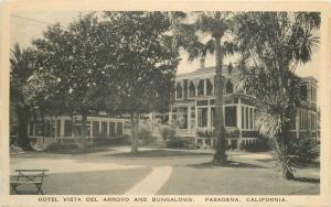 Bungalows 1940s Hotel Vista Deli Arroyo Pasadena California Hecht 10791