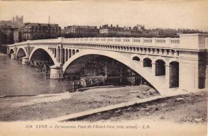 Lyon (Rhône), France, 1900-1910s , Le nouveau Pont de l'Hotel-Dieu