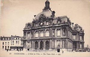 L'Hotel De Ville, The Town Hall, Tourcoing (Nord), France, 1900-1910s
