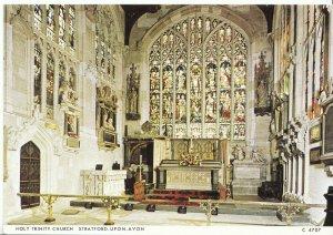 Warwickshire Postcard - Holy Trinity Church - Stratford-upon-Avon   AB1629