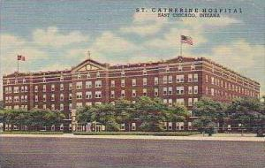 Indiana East Chicago St Catherine Hospital Curteich