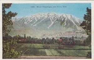 NEAR PROVO,Utah, 30-40s ; Mount Timpanogos