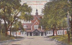 Iowa Cedar Rapids Union Passenger Railroad Station