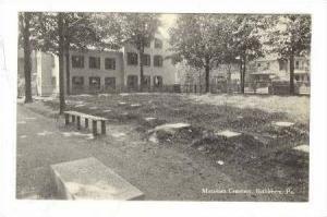 Moravian Cemetery, Bethlehem, Pennsylvania, 1900-1910