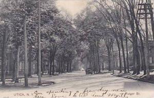 New York Utica Rutger Street 1907