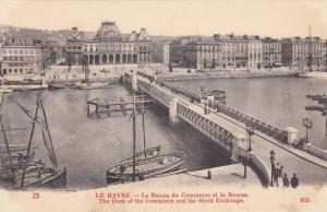 The Dock Of The Commerce And The Stock Exchange, Le Havre (Seine Maritime), F...