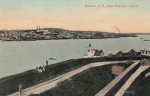 HALIFAX , Nova Scotia, Canada, 1910 ; From George's Island