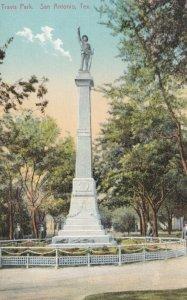SAN ANTONIO , Texas , 00-10s , Confederate Monument , Travis Park