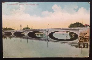 Jefferson St. Bridge, South Bend, Ind. 1908 E.C. Kropp Co. 3352