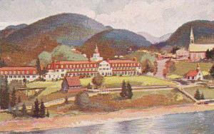 Hotel Tadoussac, Quebec, Canada, 40-60s