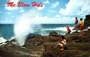 Hawaii Oahu The Blow Hole