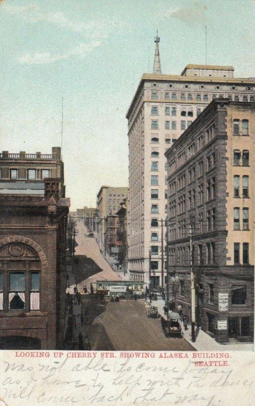 SEATTLE , Washington, 1908 ; Alaska Building