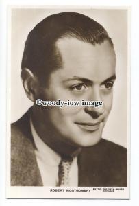 b5038 - Film Actors - Robert Montgomery, M.G.M.Pictures - postcard