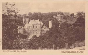 Rosslyn Castle And Chapel, Scotland, UK, 1900-1910s