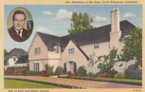 NORTH HOLLYWOOD, Los Angeles, California, 1930-40s; Residence of Bob Hope